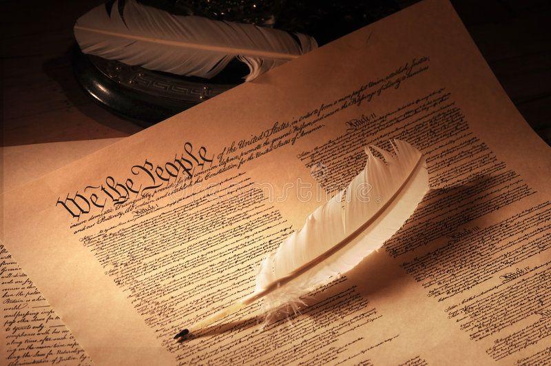 Us Constitution Medium United States Constitution Medium Shot