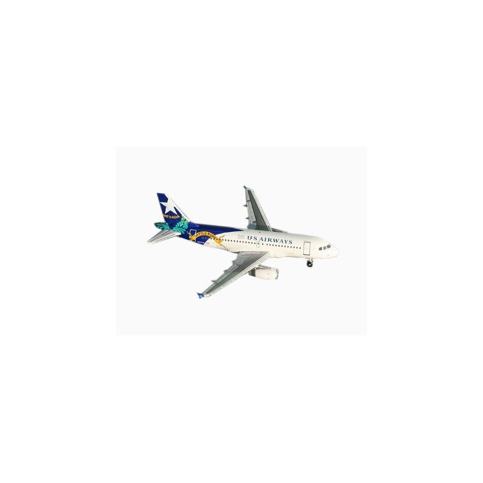 Gemini Jets US Airways (Nevada) A319 1400 Scale Toys