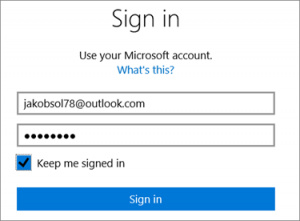 Msn Hotmail sign in