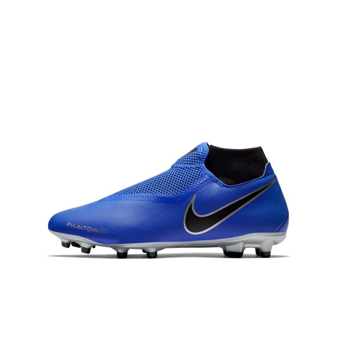 acabefe0d28 Nike Phantom Vision Academy Dynamic Fit Multi-Ground Soccer Cleat Size 8.5  (Racer Blue)