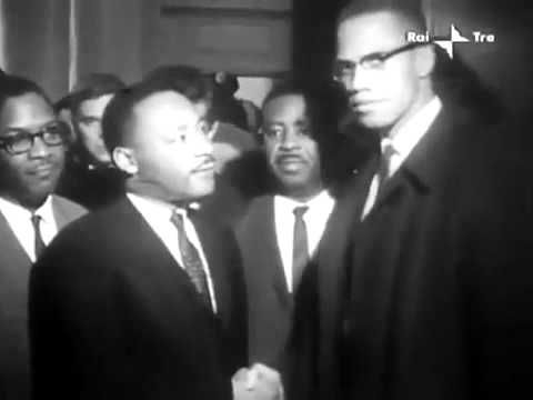 Malcolm X and Martin Luther King Meeting (March 26, 1964)