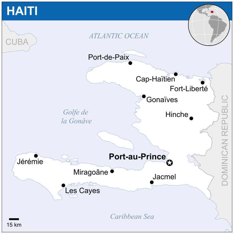Haiti Map Location