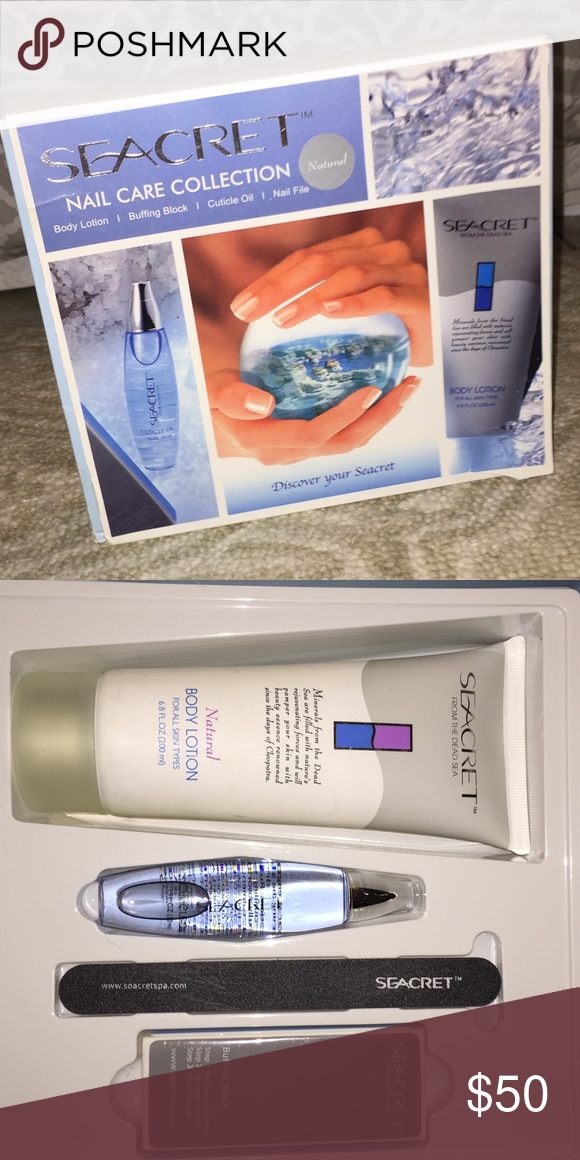 Brand New Seacret nail care collection! Brand new kit that comes with all four accessories. Seacret Other