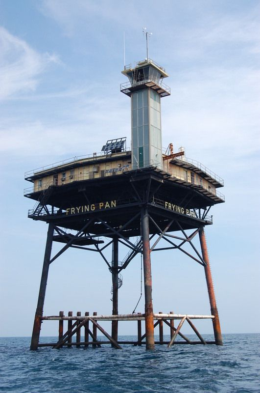 Frying Pan Tower - Bed and Breakfast in an abandoned light house