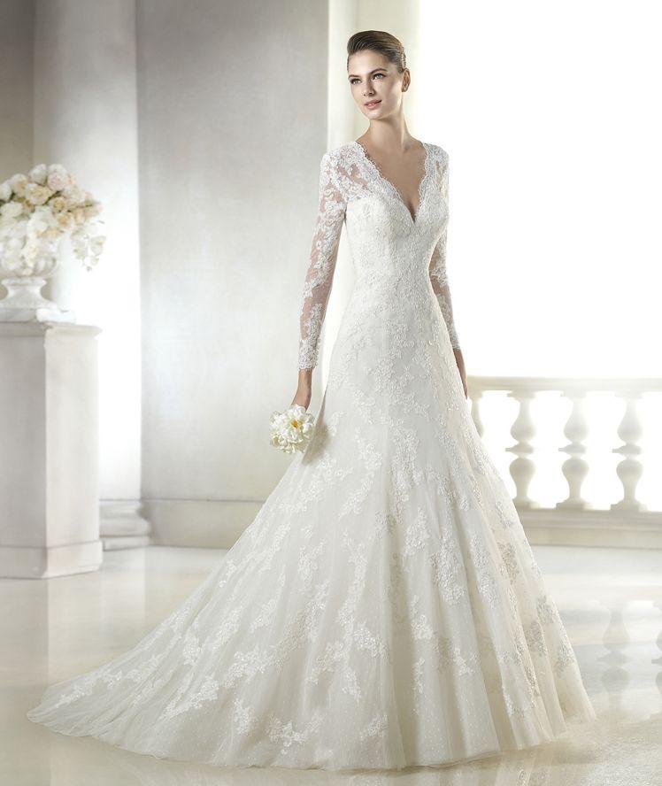 elegir el vestido de novia perfecto para tu cuerpo - consejos