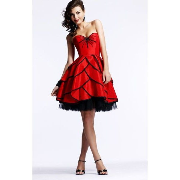 Black and red rose based dress. | Clothes n shoes | Pinterest ...