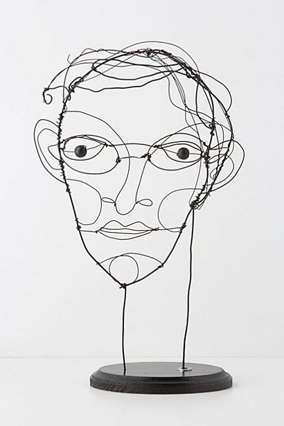 Limited Edition Wire Spectacled Gent Anthropologie