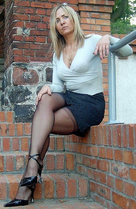 Pin on Nylons, Stockings & Heels