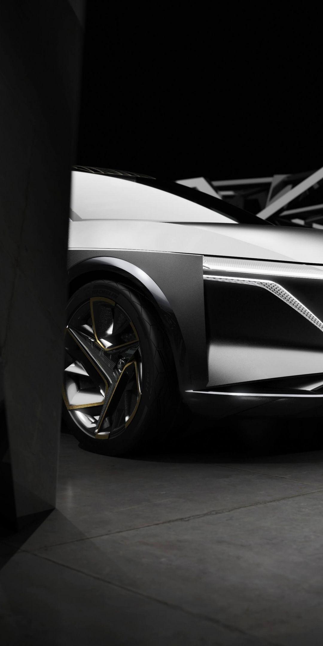 Nissan Ims Concept Electric Car 1080x2160 Wallpaper Car