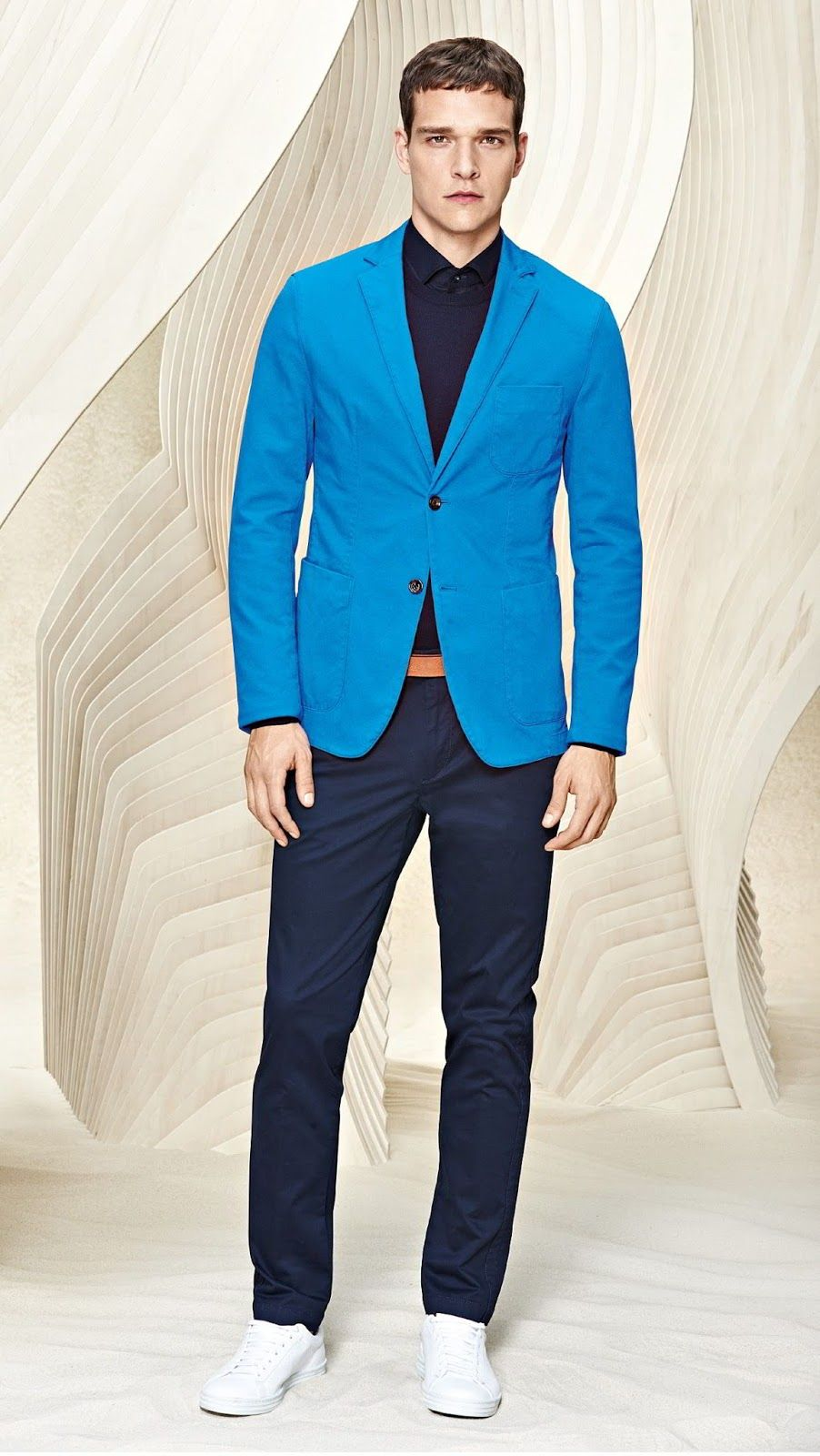 fb5c13da0b Hugo Boss Resort 2016 Collection -  Menswear  Trends  Tendencias  Moda  Hombre