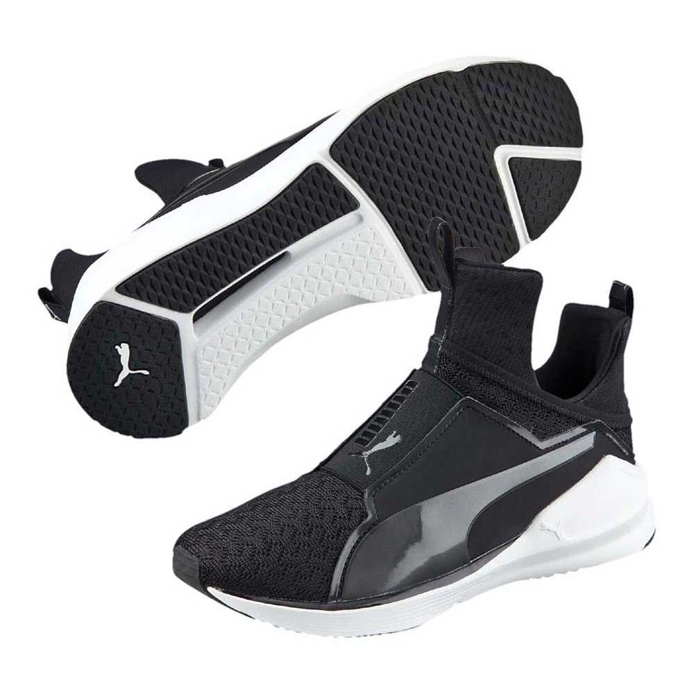 Puma Fierce Eng Mesh black white: : Schuhe