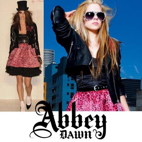 Avril Lavigne Punk Clothes
