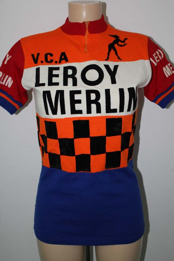 Maillot Leroy Merlin Bicycle Jersey Biking Outfit Cycling Shirt