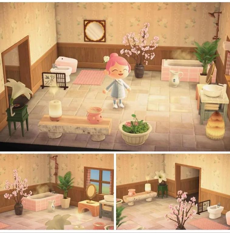 My Turn To Share My Bathroom Ac Newhorizons Animal Crossing Animal Crossing 3ds Animal Crossing Game