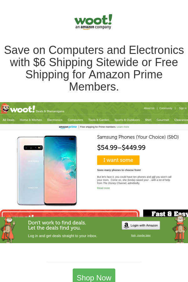 Best Deals And Coupons For Woot In 2020 Amazon Prime Free
