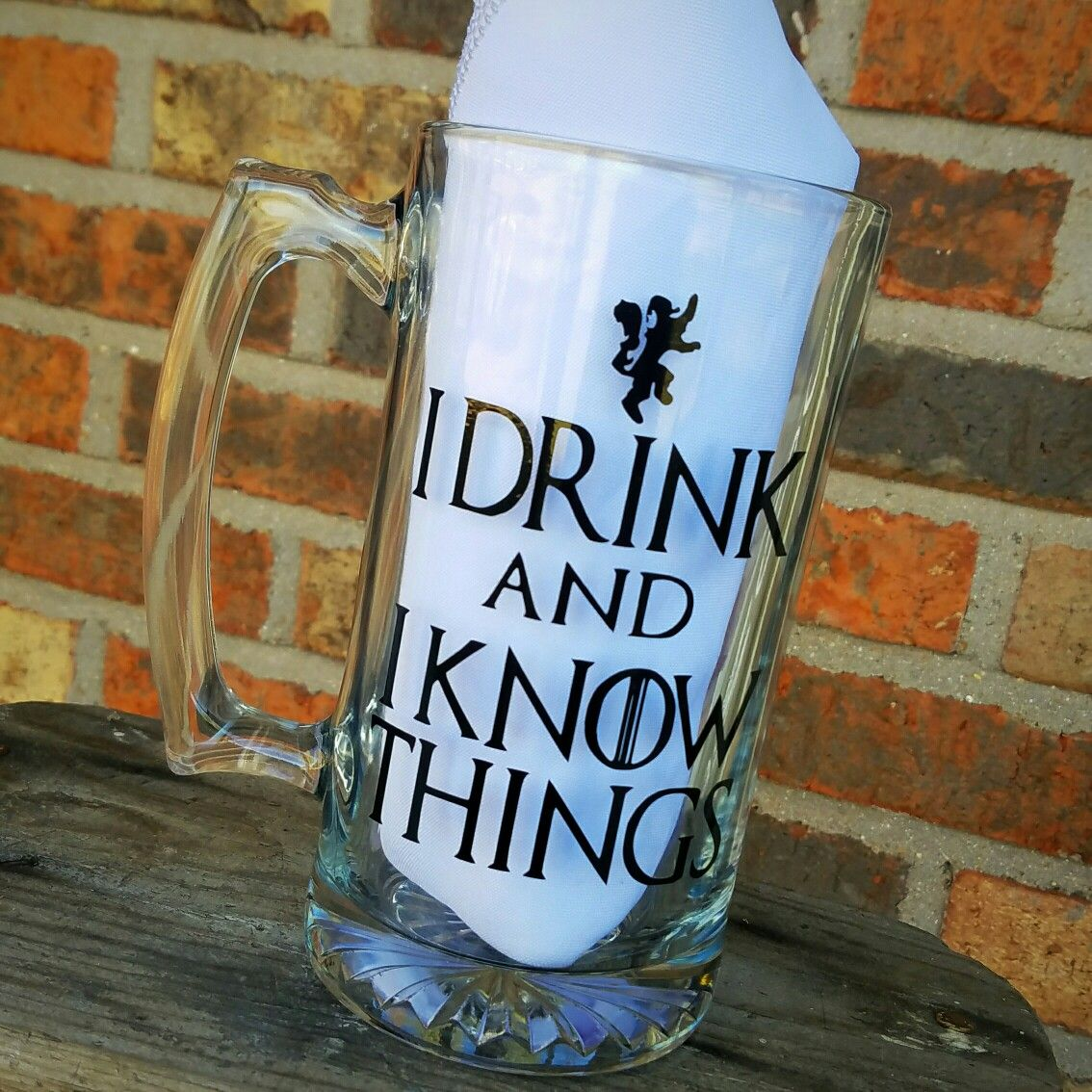 Game of Thrones I Drink and I Know Things Beet Mug Find