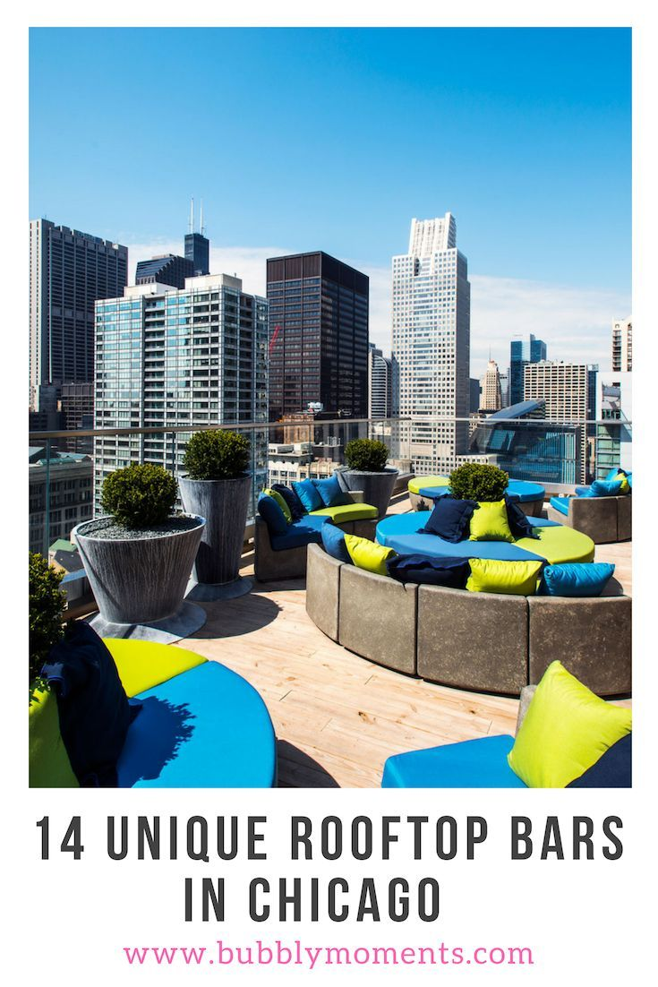 Best Chicago Rooftop Bars | Rooftop bar, Rooftop bars ...