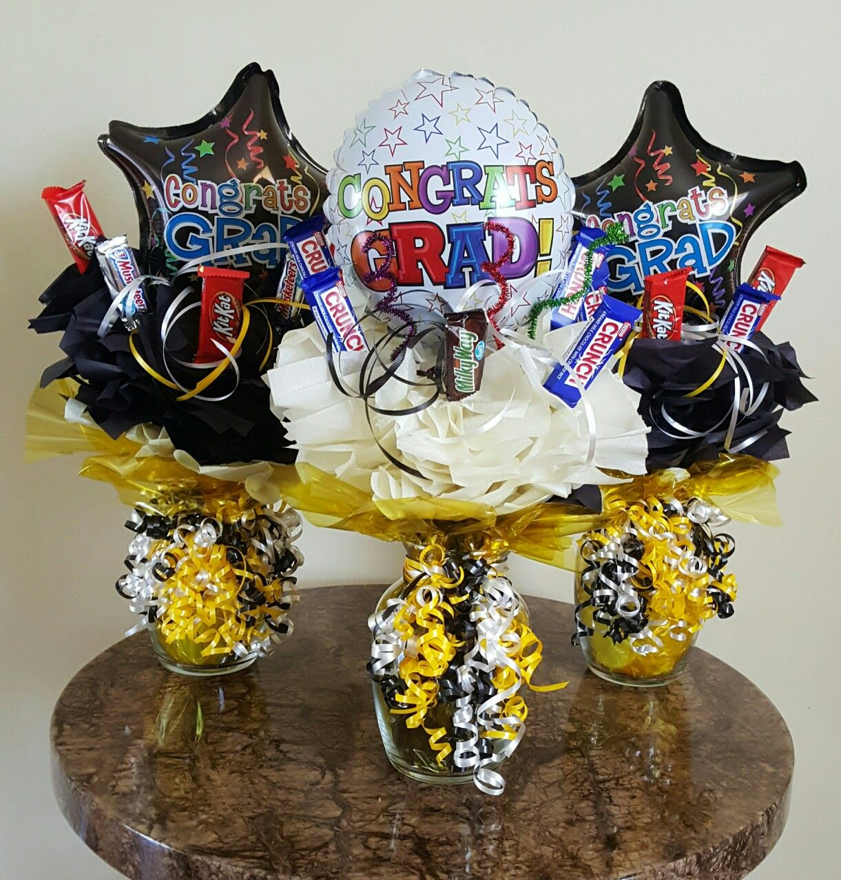 Graduation candy bouquets by serenity j myserenityj