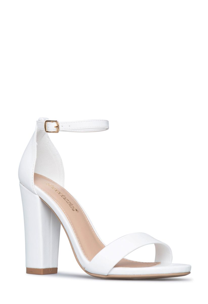 Elle Basic Heeled Sandal Shoedazzle Basic Heels Sandals Heels