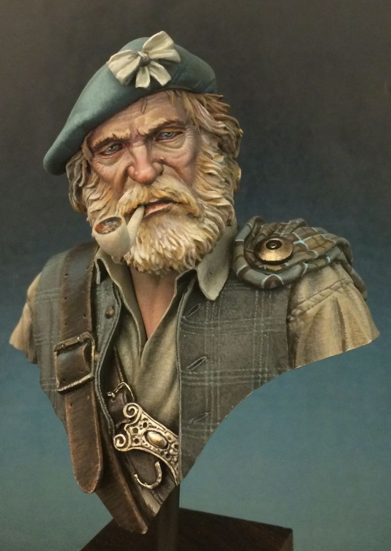 Highland Clansman | military busts | Painting, Miniatures