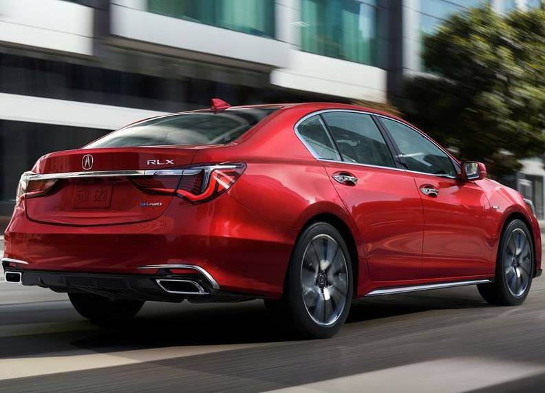 2018 Acura RLX Review look and feel as a firstrate