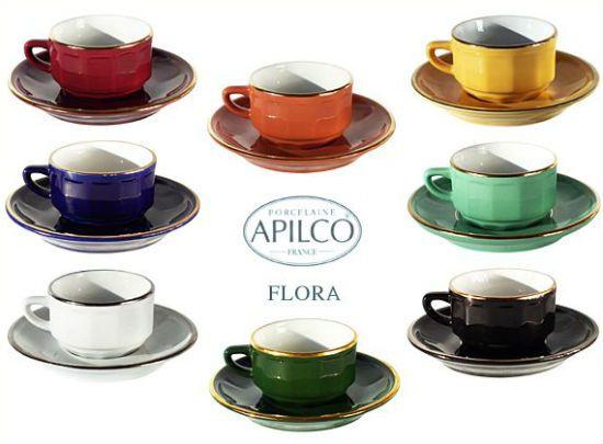 Apilco, las tazas de colores de las terrazas parisinas | DolceCity.com