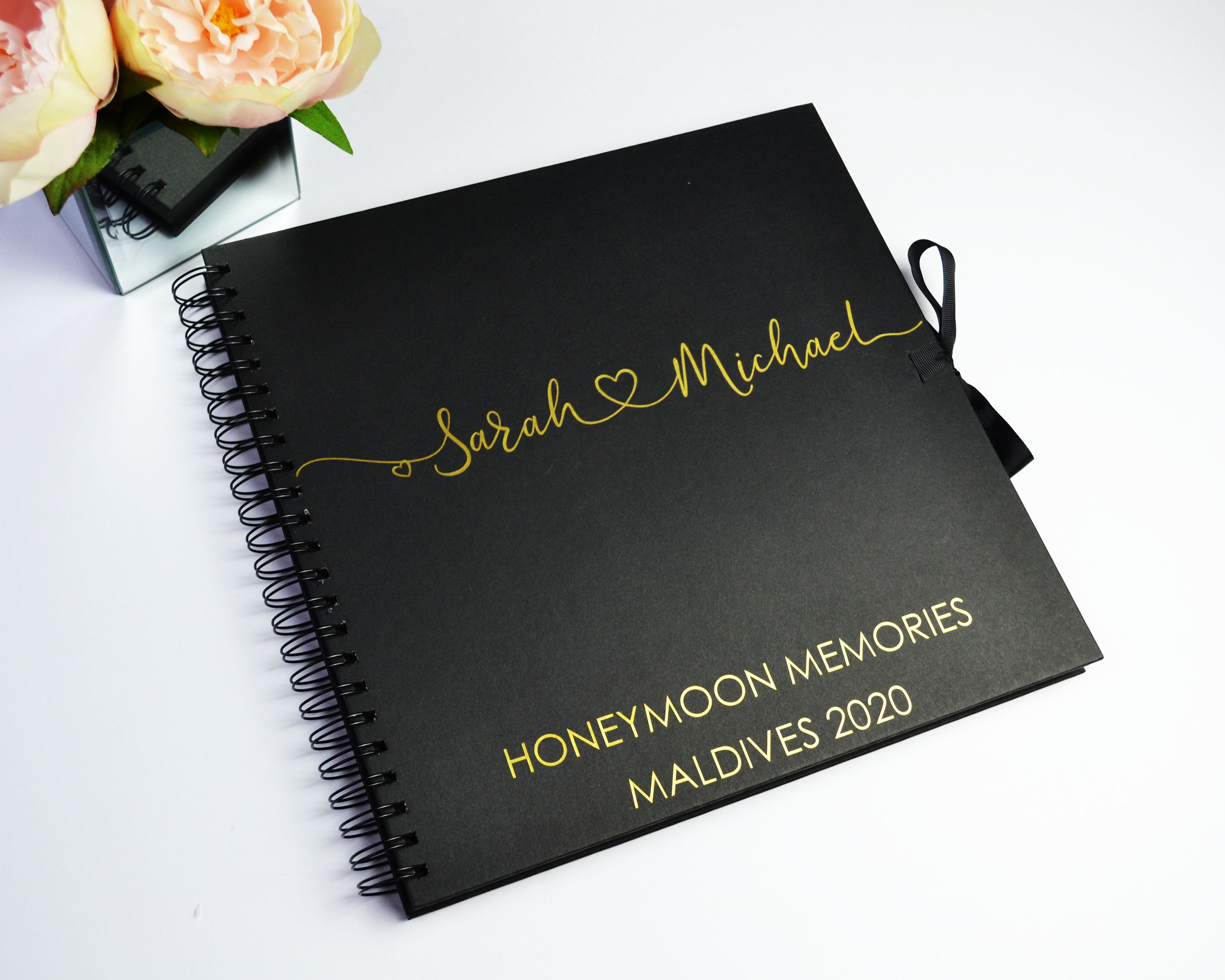 Personalised Honeymoon Book Honeymoon Memory Album Gift For
