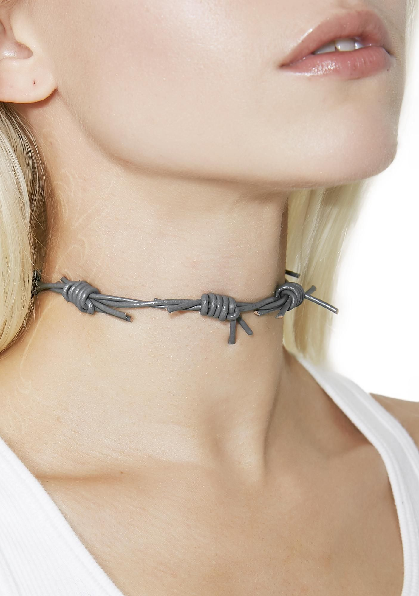 Fight Club Barbed Wire Choker will show \'em how tough you are. Keep ...