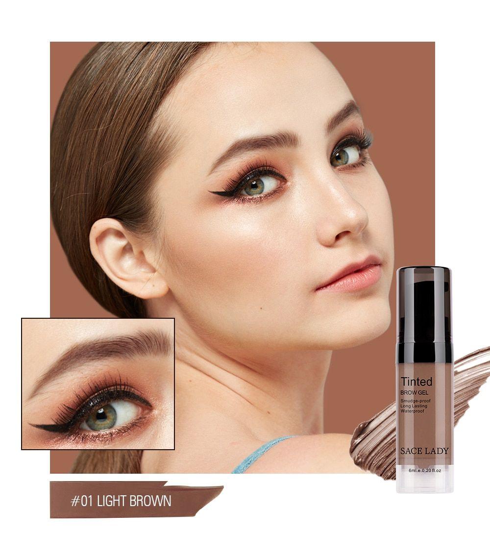 Eyebrow Dye Gel .Waterproof Makeup Shadow For Eye Brow ...
