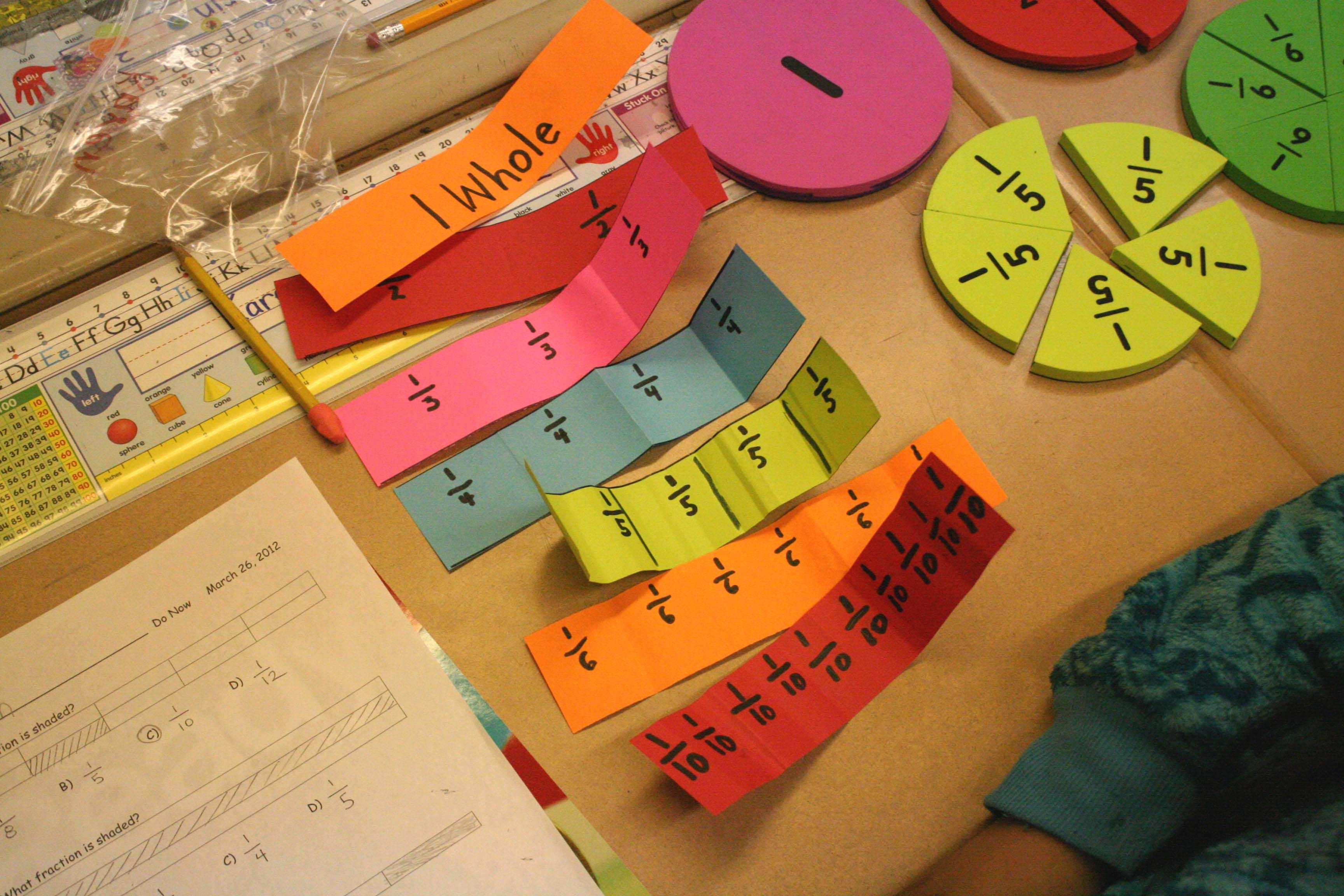 Fraction Fun Two Ways To Introduce Fractions