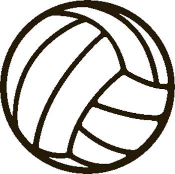 volleyball clip art google search athletic cakes cookies and rh pinterest com