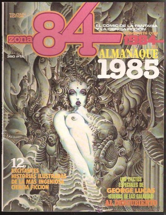 COMIC ALMANAQUE 1985 - ZONA 84 . ( BERMEJO , AZPIRI , MCMANUS ... ) - Foto 1