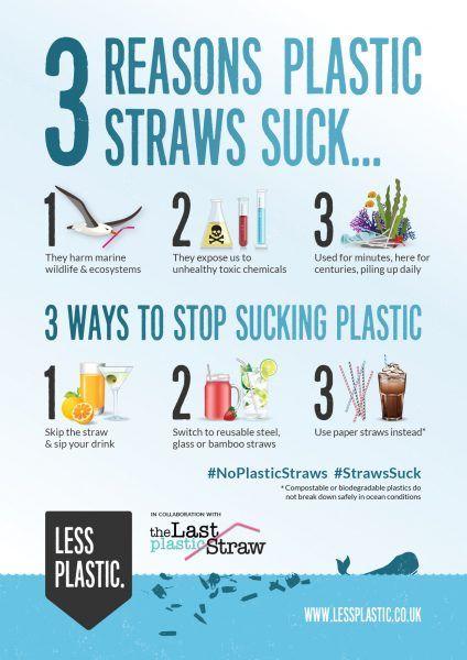 3 Reasons Plastic Straws Suck Posters Amp Postcards Eco