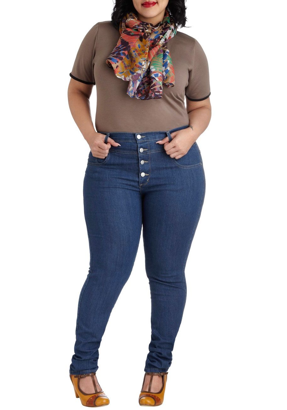 Skinny Jeans For Womens Plus Size - Xtellar Jeans