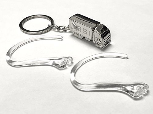BSI 2 pcs New Clear Earhooks for Plantronics Voyager 520 521