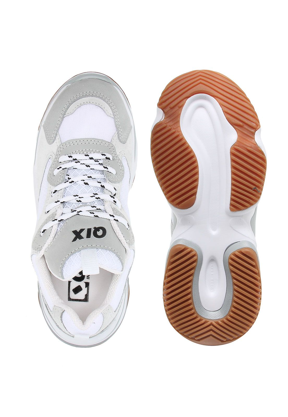 d191c06f1c9 Tênis Qix Dad Sneaker Chunky Branco