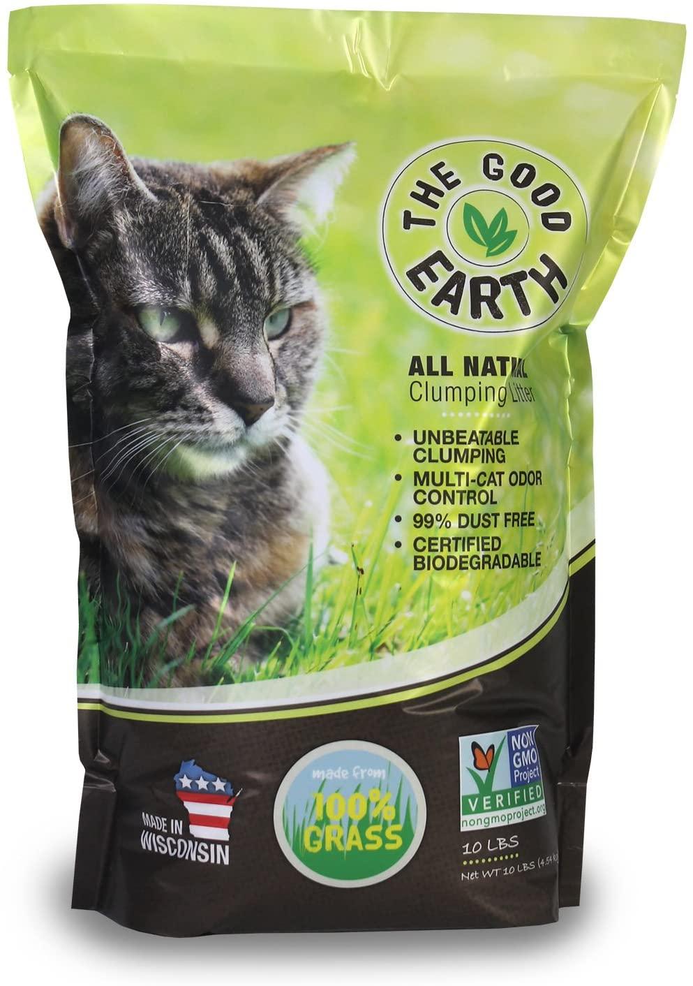 Pin On Grass Cat Litter