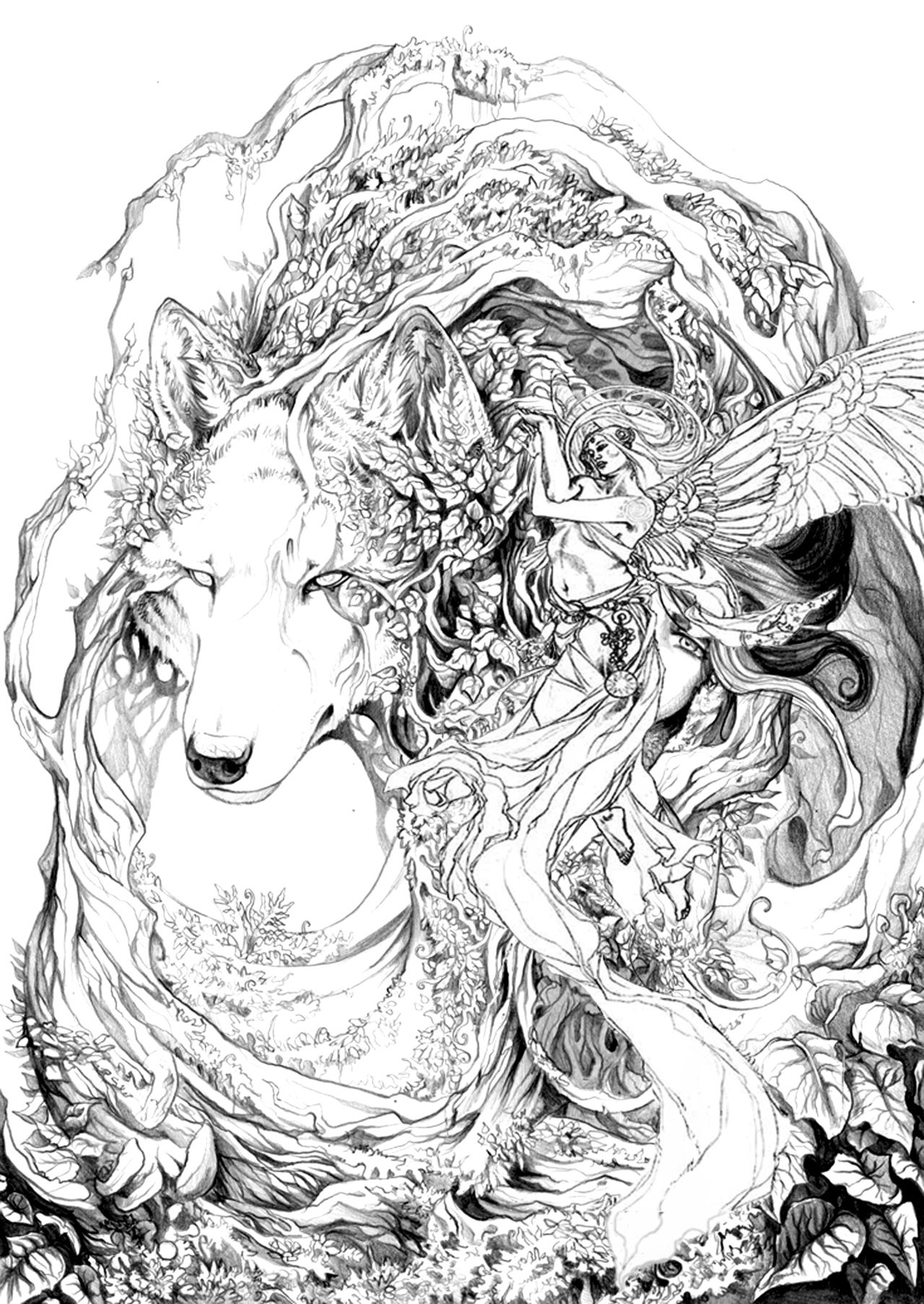 """Wolf Spirit"" 