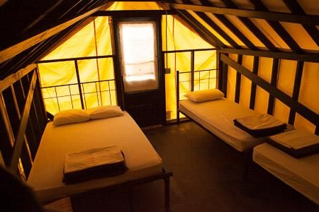 Yosemite- Nature Bridge- Curry Village- The new tent cabins have been remodeled. & Yosemite- Nature Bridge- Curry Village- The new tent cabins have ...