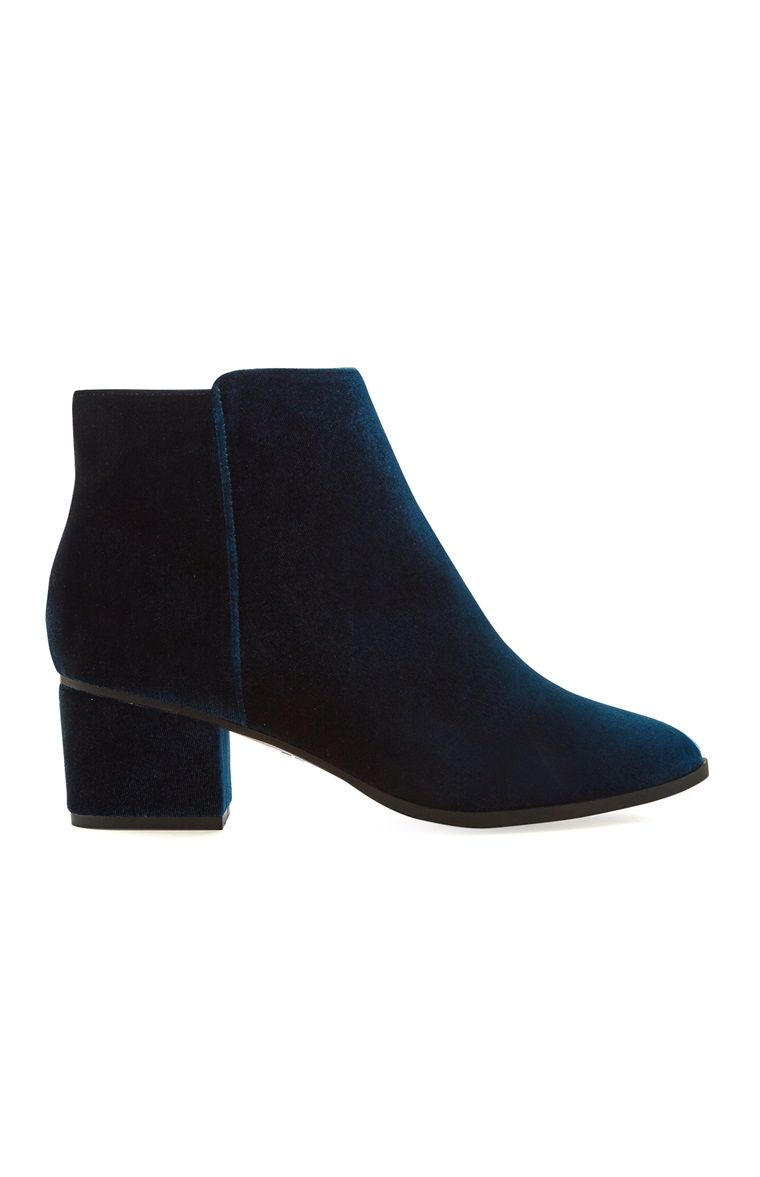 6cf2cc4f Primark - Blue Ankle Boot | AW17 | Blue ankle boots, Primark boots ...