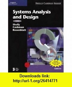 Systems Analysis And Design 9780619255107 Gary B Shelly Thomas J Cashman Harry J Rosenblatt Isbn 10 0619255102 Isbn 13 978 06192551 Analysis Ebook