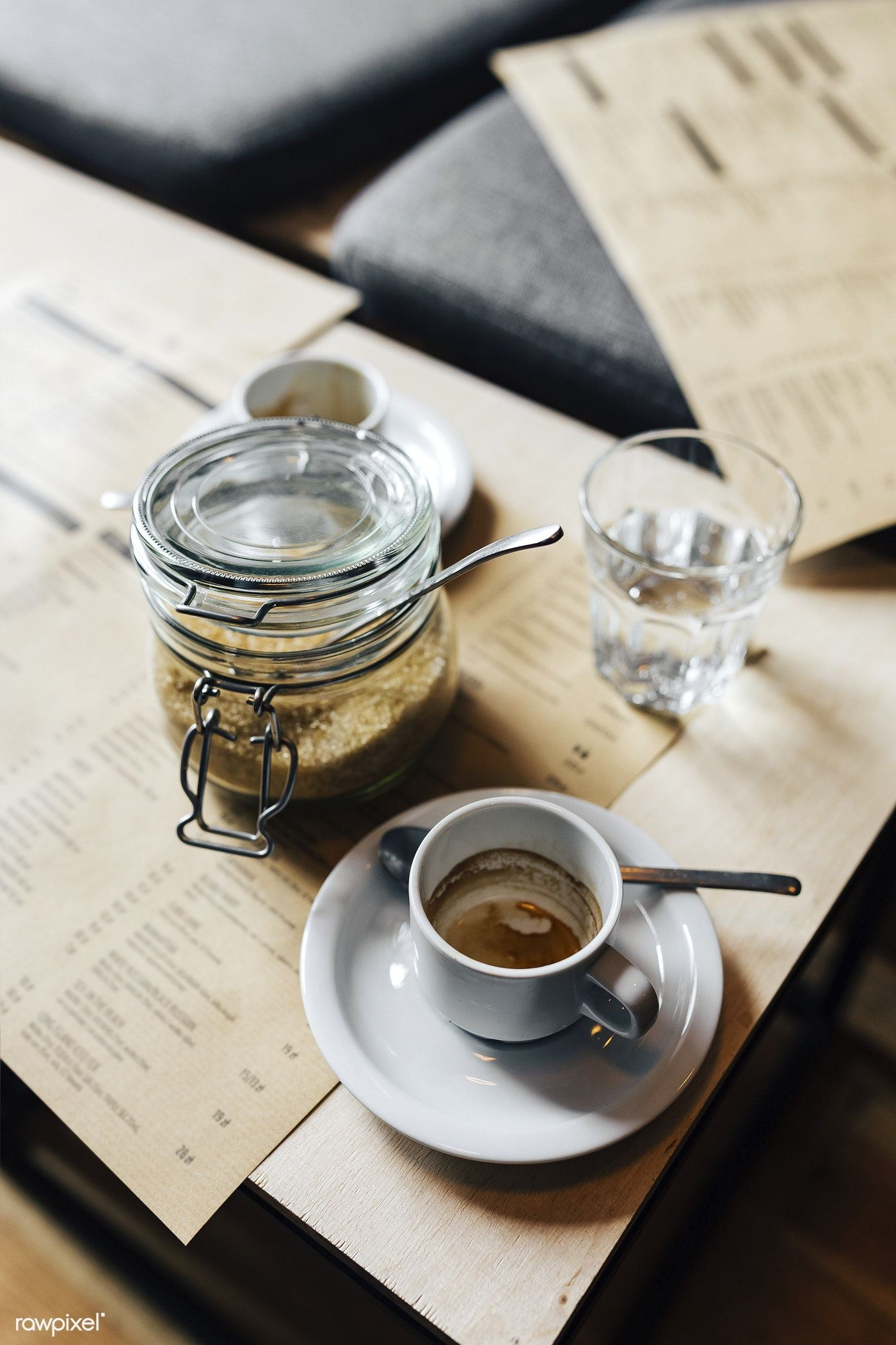 Cup Of Hot Coffee In The Morning Free Image By Rawpixel Com