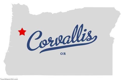 Corvalis Oregon Map.Map Of Corvallis Oregon Or Oregon Pinterest Oregon Corvallis