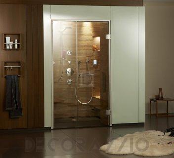 #sauna #interior #design Душевая система Klafs Steam showers, valley_mosaik_quadrano