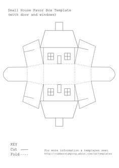 12 Free Printable Templates Paper House Template Box Template