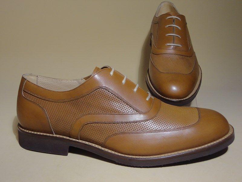 DAMON Summer #scarpe realizzate in pelle in parte traforata