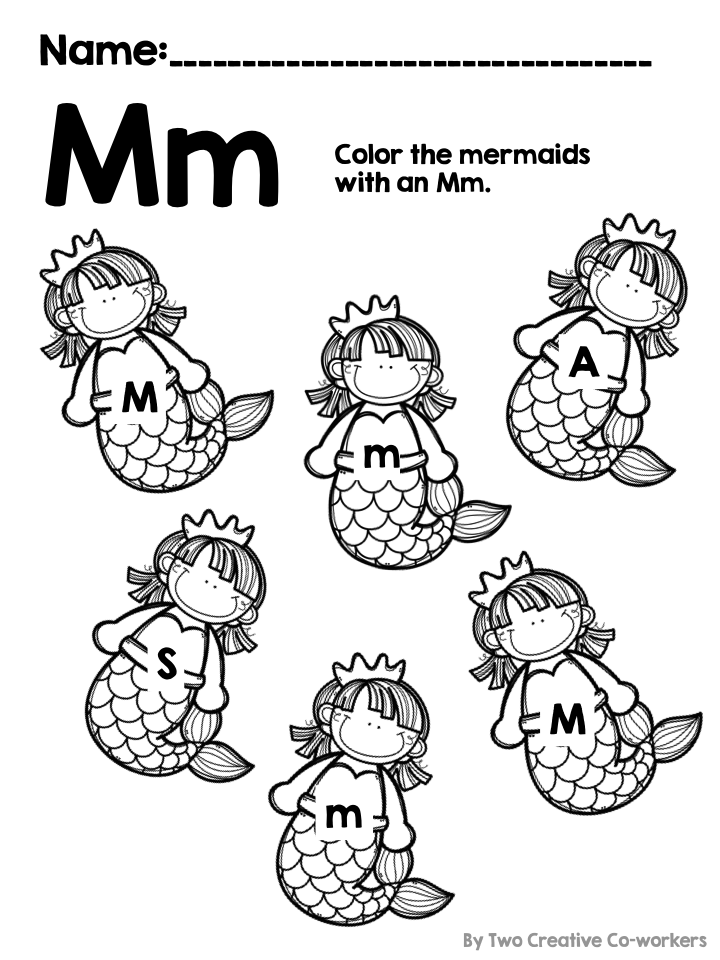 letter m alphabet practice classroom resources ideas phonemic awareness kindergarten. Black Bedroom Furniture Sets. Home Design Ideas