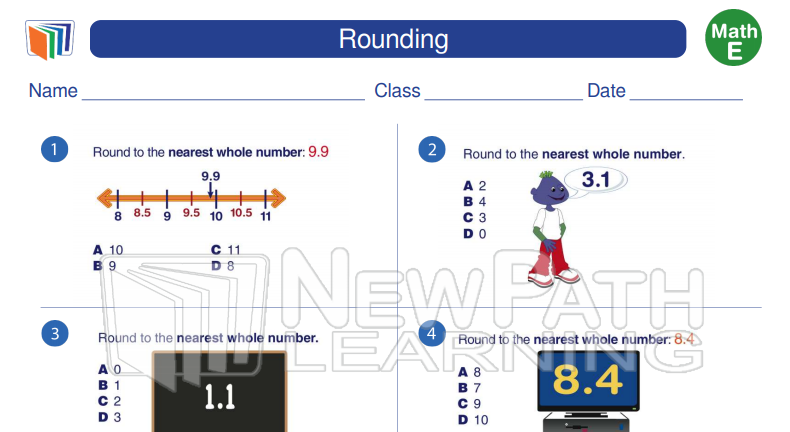 Rounding. To view more 5th grade Math Worksheets visit
