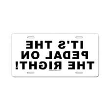 Vanity Tag Front License Plate CafePress Aluminum License Plate Laughing Man Aluminum License Plate