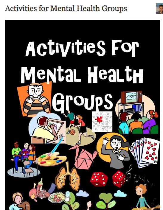 Activities For Mental Health Groups Therapy Tools Mental Health